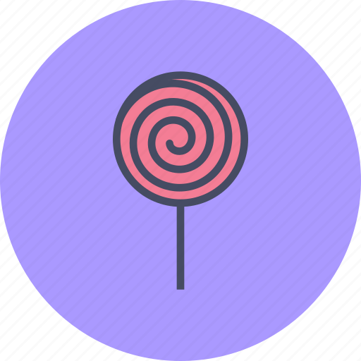 candy, confectionery, lollipop, lollypop, sugar, sweet, treat icon