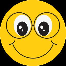 avatar, face, happy, smiley icon