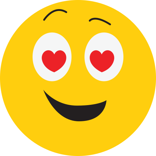 avatar, happy, love, smiley icon