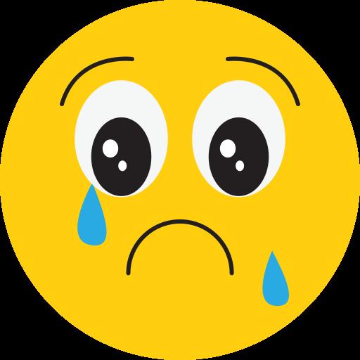 angry, bad, sad, smiley icon