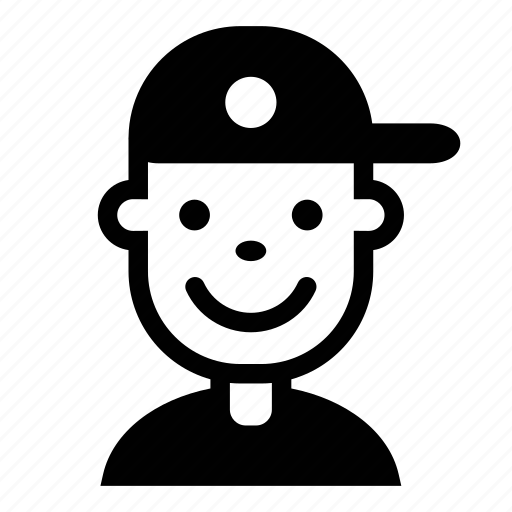 avatar, face, hat, kid, person, profile, user icon
