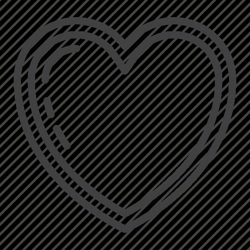 Cardio, favorite, health, heart, love, valentine icon - Download on Iconfinder