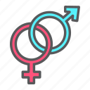 gender, heterosexual, holiday, love, romantic, sex, valentine icon