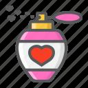 aroma, heart, holiday, love, perfume, romantic, valentine icon