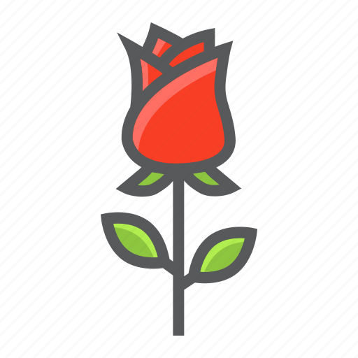 floral, flower, holiday, love, romantic, rose, valentine icon
