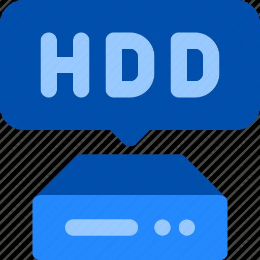 computer, data, disk, hard, hdd, storage icon