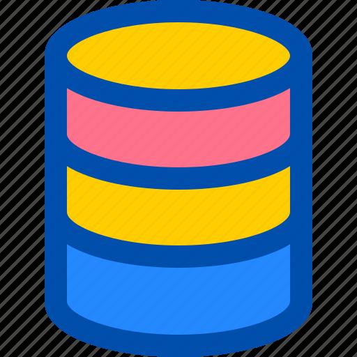 data, database, server, storage, website icon