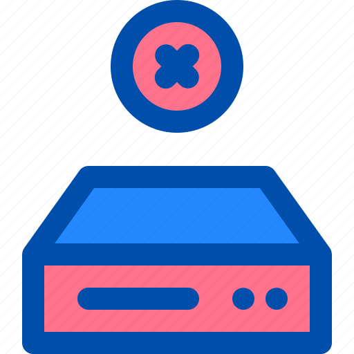 data, disk, drive, error, hard, stop icon