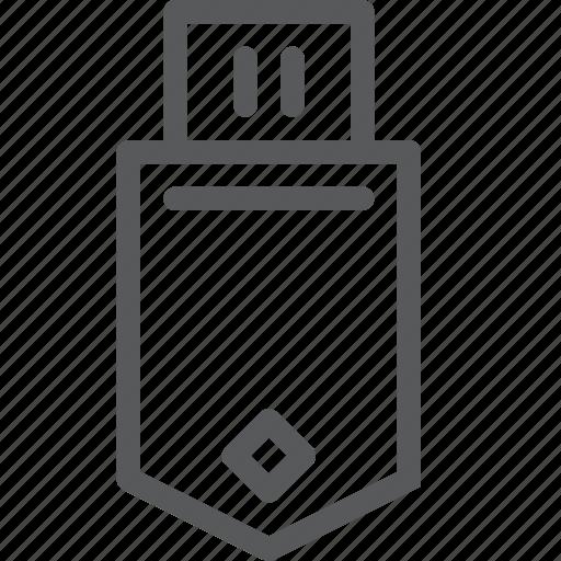 connect, drive, harddrive, head, memory, plug, stick, usb icon