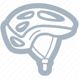 bicycle, biking, cycling, helmet icon