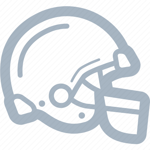 american football, football, helmet icon