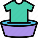 cleaning, laundry, maid, profession, service, work icon