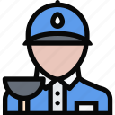 plumber, profession, service, work icon