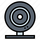 camera, computer, technology, video icon