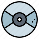 cd, compact, disc, multimedia icon