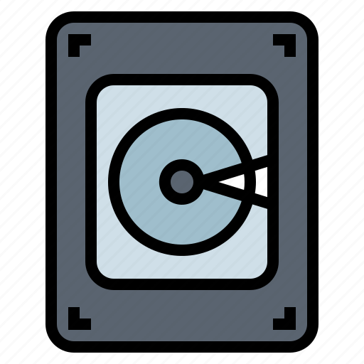 Computer, disk, electronic, hard, hardware icon - Download on Iconfinder