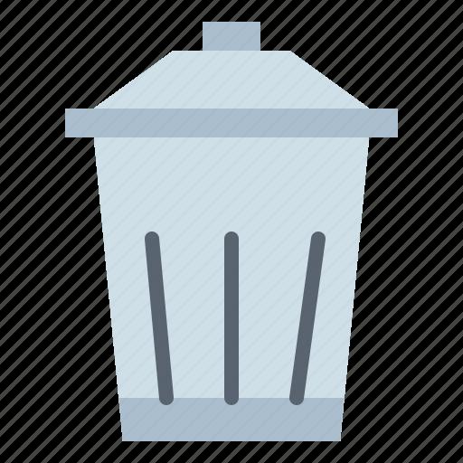 Bin, delete, rubbish, trash icon - Download on Iconfinder