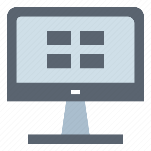 Computer, hardware, screen, technology icon - Download on Iconfinder