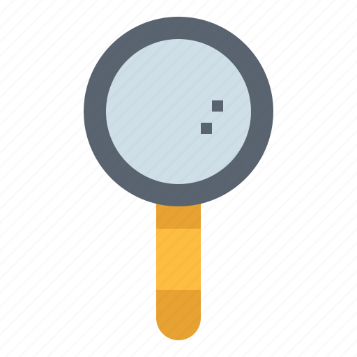 Glass, magnifying, search, tool, zoom icon - Download on Iconfinder