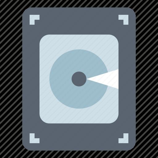 computer, disk, electronic, hard, hardware icon