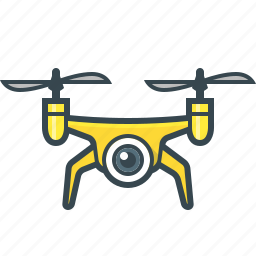 airdrone, device, drone, drone robot icon