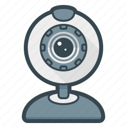 camera, devices, hardware, video, webcam icon