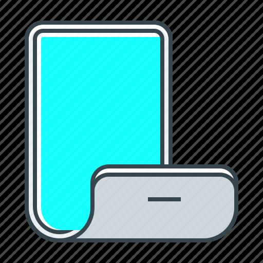 device, display, flexible, flexible display, screen, technology icon