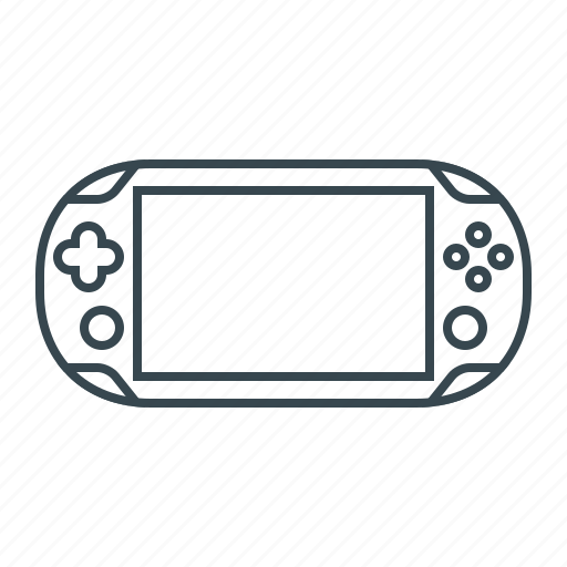 device, gaming, playstation, portable, sps icon