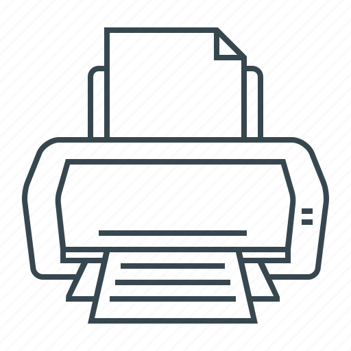 Hardware, print, printer icon - Download on Iconfinder