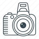 camera, digital, gallery, photo, photography, reflex, reflex camera icon