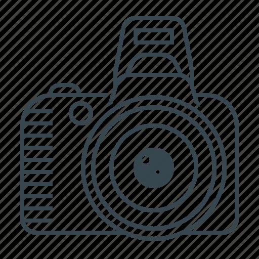camera, digital, gallery, photo, photography, reflex, reflex camera icon