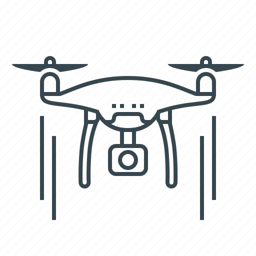 air drone, airdrone, drone, quadcopter, robot icon
