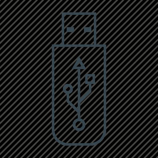 drive, flash, flash drive, memory, usb icon