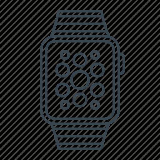 clock, device, gadget, iwatch, watch icon