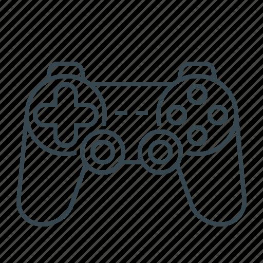 controller, device, gaming, hardware, joystick icon