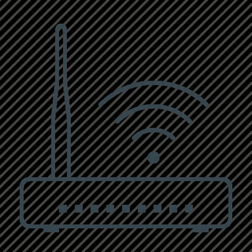 hardware, internet, modem, router, wi fi, wi-fi icon