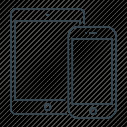 devices, digital, gadgets, smart, smartphones icon