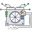 computer, cooler, hardware, infrastracture, it, system icon