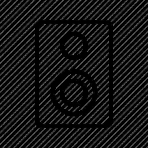 multimedia, music, sound, speaker icon