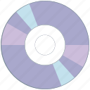 cd, drive, dvd, storage icon