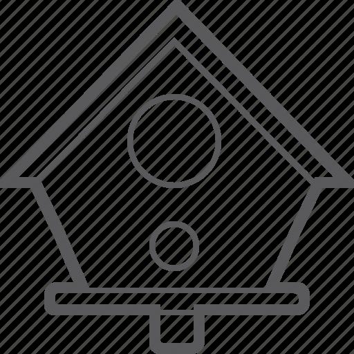 bird, house icon