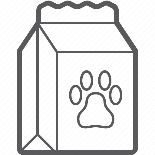 food, package, pet icon