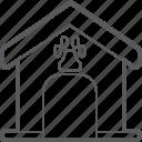 house, pet icon