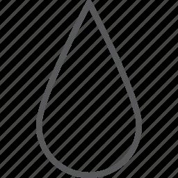 drop, dropwater, rain, water icon