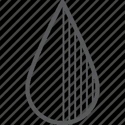 drop, shadow, shadows, water icon