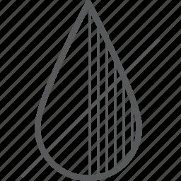 access, deny, drop, shadow, shadows, water icon