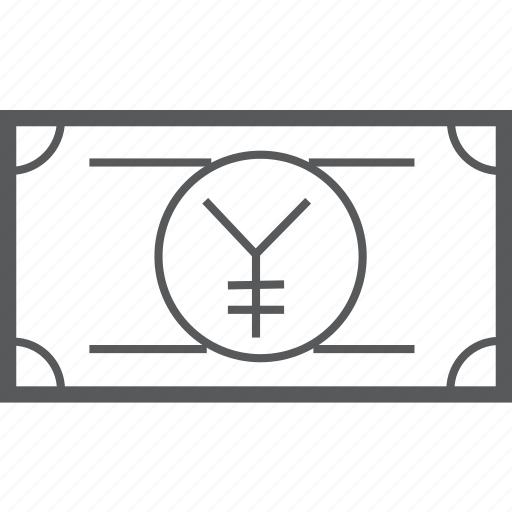 cash, currency, finance, japanese, money, payment, yen icon