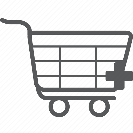 Add, trolley, cart, create, new, plus, shopping icon - Download on Iconfinder
