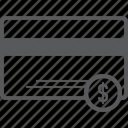 atm, card, cash, debit, dollar, money, payment icon