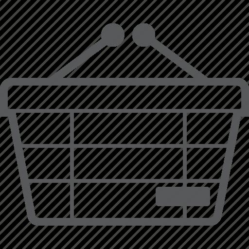 basket, buy, checkout, delete, minus, remove, shop icon